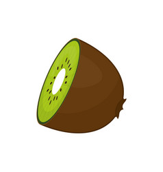 Kiwi delicious fruit vector