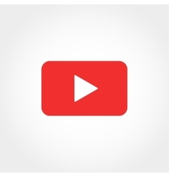 play button vector image