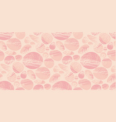 Spot and lines abstract pale color tile pattern vector