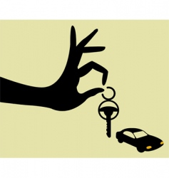 take the keys vector image