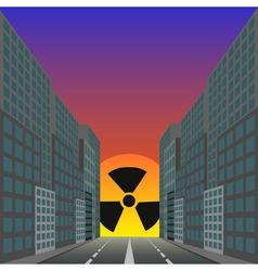 dead city vector image vector image
