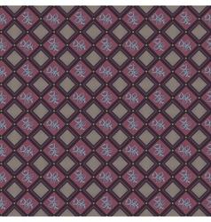 Rhombus Seamless Pattern vector image vector image