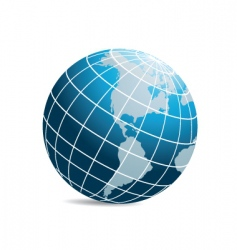 world icon vector image vector image