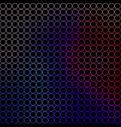 abstract - small colored circles vector image