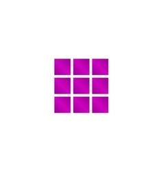 Dices sign icon Casino game symbol vector image