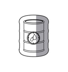 Gasoline tank icon stock vector