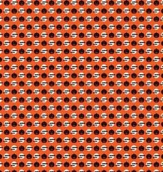 halloween bats and pumpkins vector image vector image