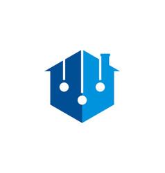 Home balance logo vector