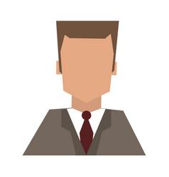 Hote recepcionist avatar profile vector