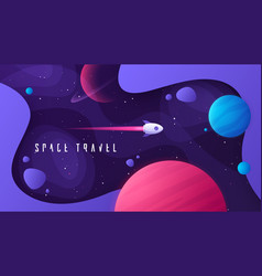 on topic outer space vector image