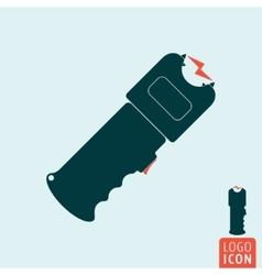 Stun gun icon vector