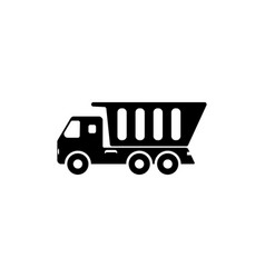 tipper icon element of popular car icon premium vector image