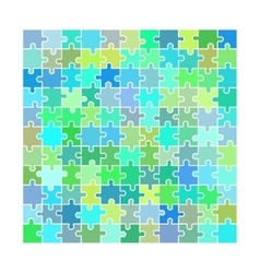 Puzzle toy blank vector image
