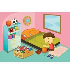 Bedroom vector image vector image