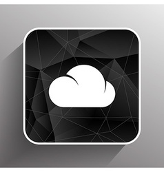 cloud icon sharing network bin lock forward key vector image