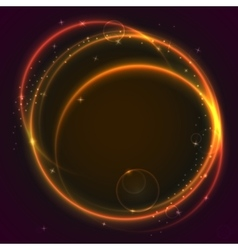 Abstract ring background vector image