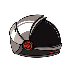 color sketch spacesuit vector image