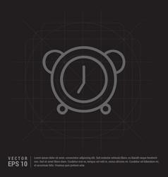 alaram clock icon vector image