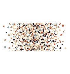 Arabic seamless pattern border texture vector