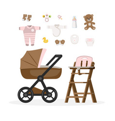 Bagirl care items vector