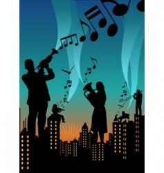 Music city vector