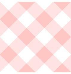 Rose Quartz White Diamond Chessboard Background vector image