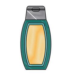 Shampoo beauty product vector