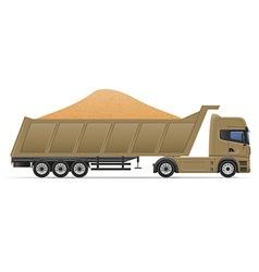 Truck semi trailer concept 11 vector