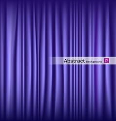 Purple theater curtain vector