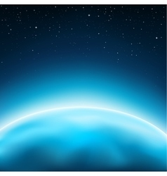 planet space background vector image