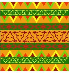 sample of ornaments vector image vector image