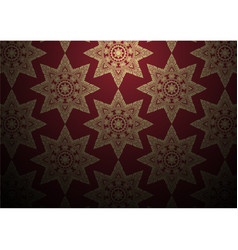 Abstract exotic thai element pattern background vector