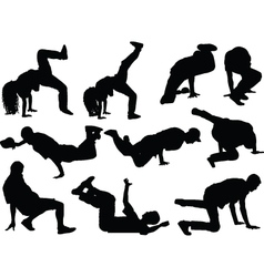 Breakdance collection vector
