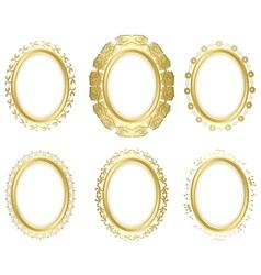 Decorative frames - set vector
