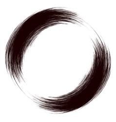 Grunge Round Frame vector