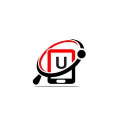 Hand phone search initial u vector