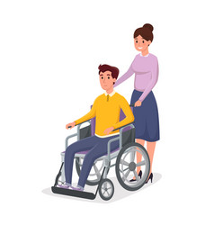 Helping disabled individual vector