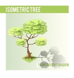 Isometric Tree 001 vector