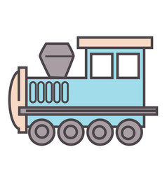 locomotive train game for boys toys for kids vector image