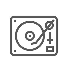 music line icon editable stroke 48x48 vector image