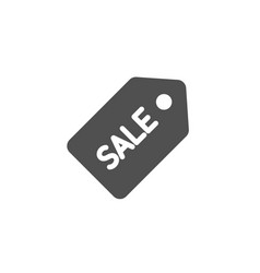 shopping tag simple icon sale coupon sign vector image