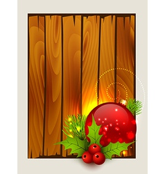 stylish merry christmas background vector image vector image