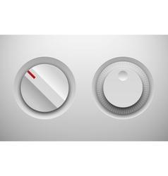 Ui control knob regulators vector