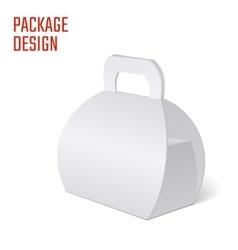 Clear Gift Carton Box vector image vector image