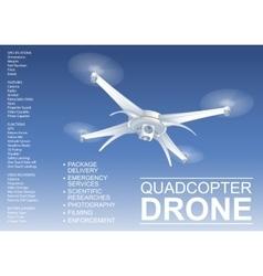 Drone technical vector