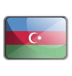 Azerbaijan on white background vector
