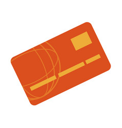 Bank card credit or debit finance icon vector