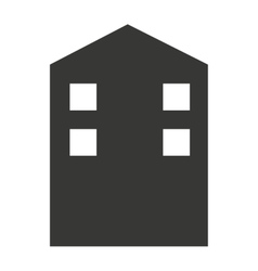 building construction isolated icon vector image