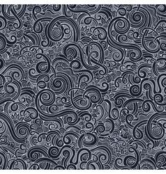 Decorative hand drawn doodle nature ornamental vector