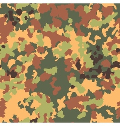 Camouflage seamless pattern Woodland style vector image